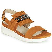 Schoenen Dames Sandalen / Open schoenen Dorking 7863 Bruin