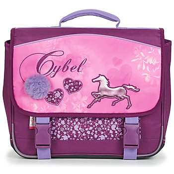 Tassen Meisjes Schooltassen Rentrée des classes CYBEL CARTABLE 38 CM Roze