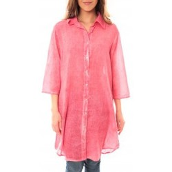 Textiel Dames Korte jurken Palme Tunique Honolulu 47262 Rose Roze