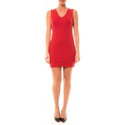 Textiel Dames Korte jurken Vera & Lucy Robe Enzoria 9252 Rouge Rood