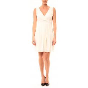 Textiel Dames Korte jurken Vera & Lucy Robe Enzoria 9291 Beige Beige