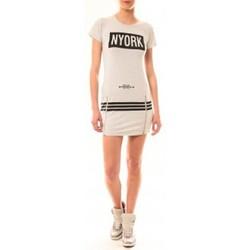 Textiel Dames Korte jurken Vera & Lucy Robe New York MC1575 Gris Grijs