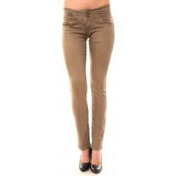 Textiel Dames Straight jeans Dress Code Jeans Rremixx RX320 Beige Beige