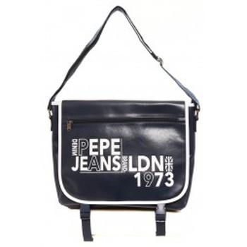 Tassen Dames Schoudertassen met riem Pepe jeans Sac Lisa 7075051 Marine Blauw