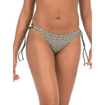 Textiel Dames Bikinibroekjes- en tops Selmark Braziliaanse zwempakkousen Laberinto  Mare vert Donkergroen