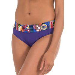 Textiel Dames Bikinibroekjes- en tops Selmark Tribal  Mare Blauwe Zwempakkousen Blauw