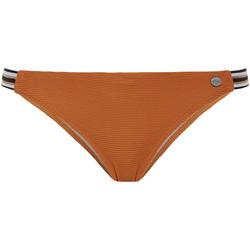 Textiel Dames Bikinibroekjes- en tops Beachlife Leder Bruin Zwempakkousen Paars