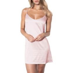Textiel Dames Pyjama's / nachthemden Admas Babydoll Zachte Dromen Adma's Lichtroze