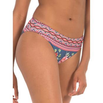 Textiel Dames Bikinibroekjes- en tops Selmark Bikinibroekje Greca  Mare blauw bikinibroekje Blauw