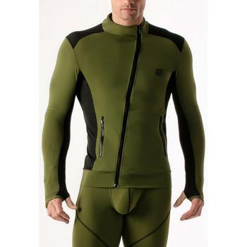 Textiel Heren Sweaters / Sweatshirts Code 22 Compressie-jasje Code22 Lavendel