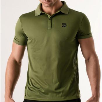 Textiel Heren Polo's korte mouwen Code 22 Pinhole Polo Shirt Code22 Lavendel