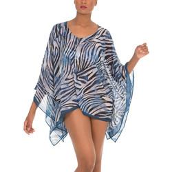 Textiel Dames Tunieken Selmark Strand caftan Cebras  Mare Blauw