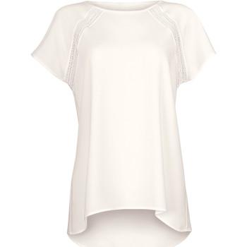 Textiel Dames Tops / Blousjes Lisca Tijdloze wang van  T-shirt met korte mouwen Geel