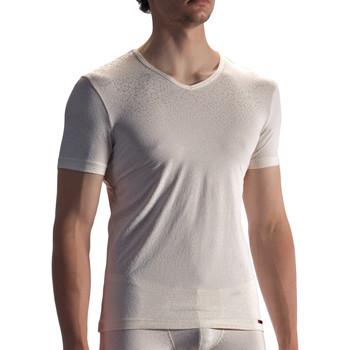 Textiel Heren T-shirts korte mouwen Olaf Benz T-shirt PEARL1858 Geel