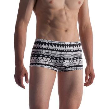 Ondergoed Heren Boxershorts Olaf Benz Zwemmen Shorty BLU1856 Groene