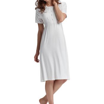 Textiel Dames Pyjama's / nachthemden Admas Premama  nachthemd Geel