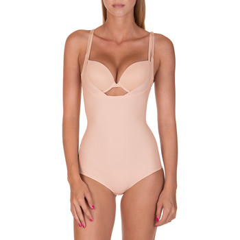 Ondergoed Dames Body Lisca Bodyliner Bella  huid Pruim