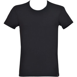 Textiel Heren T-shirts korte mouwen Lisca Apolon  Men T-shirt Parelmoer Zwart