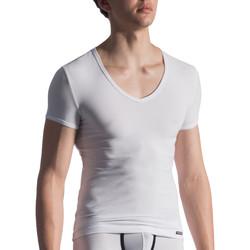 Textiel Heren T-shirts korte mouwen Manstore M811  T-Shirt Wit