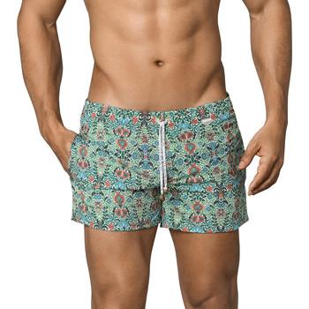 Textiel Heren Zwembroeken/ Zwemshorts Clever Ivy Atleta  Bath Shorts Donkergroen