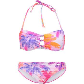 Textiel Dames Bikini Lascana Bench Bandeau Bikini 2-delige set Groene