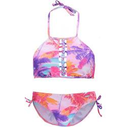 Textiel Dames Bikini Lascana Bench Bustier Bikini 2-delige set Groene
