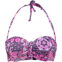 Textiel Dames Bikinibroekjes- en tops Lascana Buffel  Bandeau Zwempak Top Groene