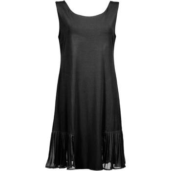 Textiel Dames Korte jurken Lisca Strandjurk Jakarta Parelmoer Zwart