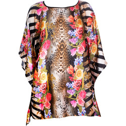 Textiel Dames Pareo Luna Feline  Beach Caftan Groene