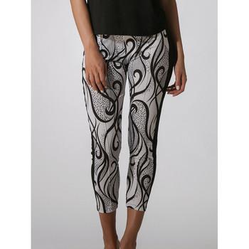 Textiel Dames Korte broeken Luna Elixir  strandbroek Parelmoer Zwart