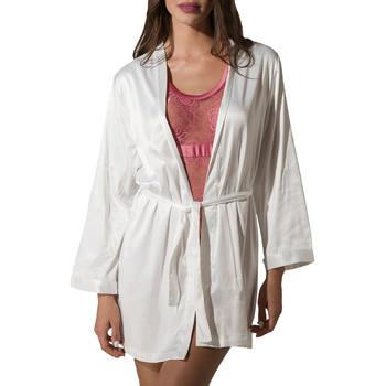 Textiel Dames Pyjama's / nachthemden Luna Kimono Prestige de Geel