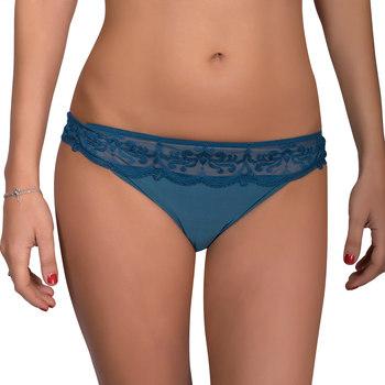 Ondergoed Dames Tanga Luna Braziliaanse Gothic de Blauw