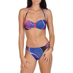 Textiel Dames Bikini Lisca Alanya  2-delige hoofdbandenset Paars/oranje