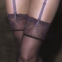 Ondergoed Dames Panty's/Kousen Selmark Samara  Kousenband Roze