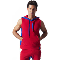Textiel Heren Mouwloze tops Code 22 Sweet Hoody Sleeveless Sport Code22 Zand