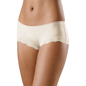 Ondergoed Dames Boxers Lascana Microvezel Shorty Perfecte Basis Geel
