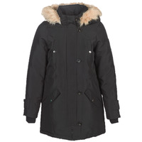 Textiel Dames Parka jassen Vero Moda VMEXCURSION EXPEDITION Zwart