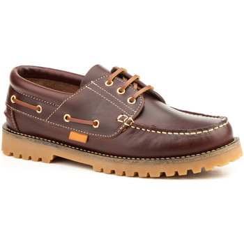 Schoenen Dames Derby Keelan 58677 BROWN