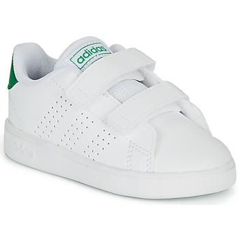 Schoenen Kinderen Lage sneakers adidas Originals ADVANTAGE I Wit
