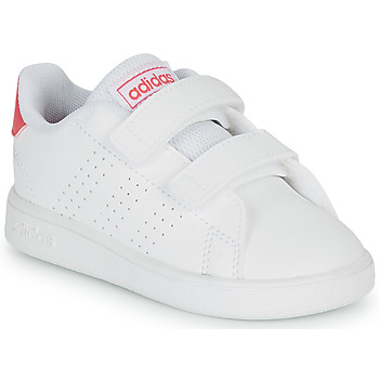 Schoenen Meisjes Lage sneakers adidas Originals ADVANTAGE I Wit