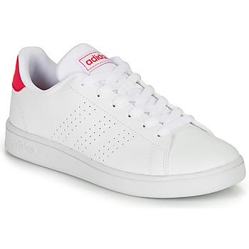 Schoenen Meisjes Lage sneakers adidas Originals ADVANTAGE K JU Wit