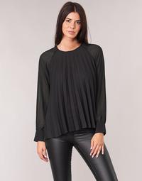 Textiel Dames Tops / Blousjes Moony Mood LAURA Zwart