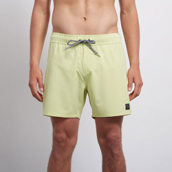 Textiel Heren Zwembroeken/ Zwemshorts Volcom Case Stoney 16 Shadow Lime