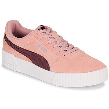 Schoenen Dames Lage sneakers Puma COURT CALI RS Roze