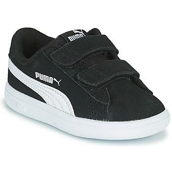 Schoenen Kinderen Lage sneakers Puma SMASH INF Zwart