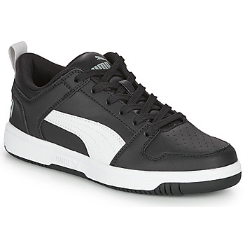 Schoenen Jongens Lage sneakers Puma REBOUND LAYUP N Zwart