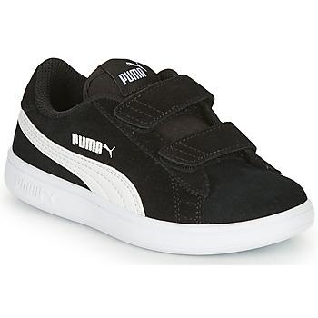 Schoenen Kinderen Lage sneakers Puma SMASH Zwart