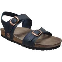 Schoenen Dames Sandalen / Open schoenen Romika Westland Juno Marineblauw leer