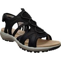 Schoenen Dames Sandalen / Open schoenen Romika Westland Olivia 08 Zwart