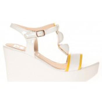 Schoenen Dames Sandalen / Open schoenen Cassis Côte d'Azur Sandales Orso Blanc Wit